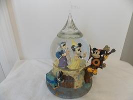 Disney Minnie & Mickey Yee Olden Days Princess Musical Snowglobe  - $85.00