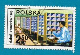 Poland (used) 1980 2.5 Stamp Day - Scott Cat # 2420 - $1.99
