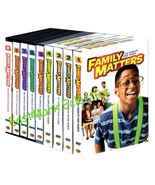 Family Matters: The Complete Series (27-DVDs, Seasons 1-9) 1 2 3 4 5 6 7... - $49.89