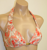 NWT Michael Kors Swimsuit Bikini  Top Size S HEMP/PAPAY - $26.98