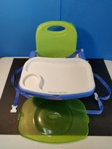 Fisher-Price Healthy Care Booster Seat with Feeding Tray Snap on Lid B7275 - $29.09