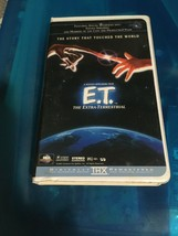 ET: The Extra Terrestrial Digitally Remastered VHS Clamshell - $2.18