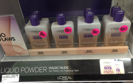 BUY 2 GET 1 FREE (Add 3 To Cart) Loreal Magic Nude Liquid Powder Foundation - $5.20+