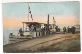 Steamer Colonial at Dock Seneca Lake Geneva New York 1909 postcard - $6.93