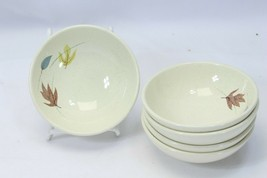"Franciscan Autumn Leaves Fruit Bowls 5.125"" Lot of 5 - $39.19"