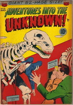 Adventures Into The Unknown Comic Book #29, ACG 1952 FINE- - $72.48