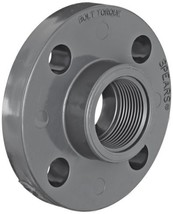 Spears 852 Series PVC Pipe Fitting, One Piece Flange, Class 150, Schedul... - $22.48