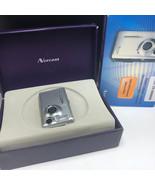 NORCENT DIGITAL CAMERA 1920LCD silver nib box usb rechargeable battery D... - $35.64