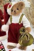 """Bearington Bears """"Yule B. Jolly"""" 14"""" Collector Bear- #173155-  New- 2011 - $39.99"""