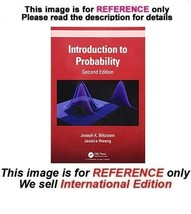 Introduction to Probability by Joseph K. Blitzstein, Jessica Hwang, 2nd ... - $44.90