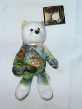"Thomas Kinkade Stuffed Plush B EAN Bag Teddy Bear Limited Treasures 2003 8.5"" - $17.81"