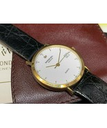 Raymond Weil Geneve 18k gold electroplated All Original Band Watch Classic - $186.07