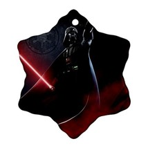Star Wars Darth Vader With Lightsaber Procelain Ornaments (Snowflake) Ch... - $6.99