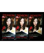 3 Box Revlon Colorsilk Buttercream Hair Color 30 20N Brown/Black Dye Lot... - $29.67