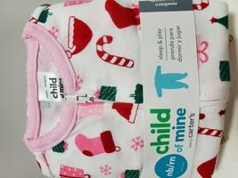 Carter's Christmas Girls Child of Mine Sleep and Play Sleeper (NB/RN) - $9.89