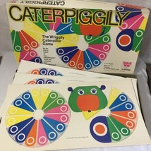 Vintage Matching Board Game 1970 Caterpiggily Unpunched Cards Whitman - $12.84
