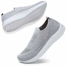HKR Womens Tennis Waking Shoes Lightweight Knit Work Sneakers Casual Mesh Athlet