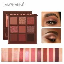 Eyeshadow Pallete Pallet Set Shining Makeup Glitter Pigment Smoky Eye Sh... - $9.72