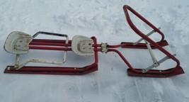 Rare Antique/Vintage 2 Seater Ski-Daddle Metal Winter Snow Sled - $169.49