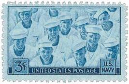 1945 US Armed Forces Navy Postage Stamp Catalog Number 935 MNH