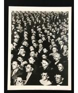 LIFE MAGAZINE Photograph Eyerman 3-D Movie 9x12 Lithograph Portfolio Print - $23.19