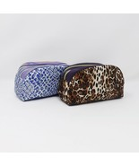 Adrienne Vittadini Studio Double Zippered Cosmetic Travel Case Bag - New - $19.99