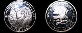 North American Hunting Club 1 Oz .999  Silver Round Bighorn Sheep - $39.99
