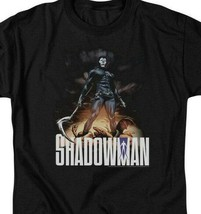 Shadowman T Shirt Valiant Comics Universe Bosou Koblamin graphic tee VAL166 image 2