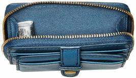 Fossil Women'S Fiona Leather Zip Around Coin Wallet image 4