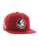 NCAA Florida State Seminoles Cap Hat Snapback Adjustable NWT Flat FSU Logo - $22.72