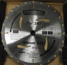 "Original Iwasaw 00002 7-1/4"" x 24T Saw Blades 5/8"" Arbor 10 Pack Japan - $46.53"