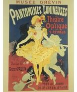 Jules Cheret Pantomimes Lumineuses Giclee Art Paper Print Poster Reprodu... - $46.75