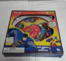 Kids Batman Dart Launcher And Target Game - $7.91