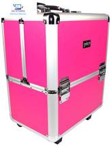 Geko 1-pièce Esthéticienne Chariot de Maquillage, rose/série frame  - $147.70