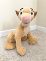 "2002 Hasbro Disney's The Lion King Nala 21"" Stuffed Plush Lioness - $15.35"