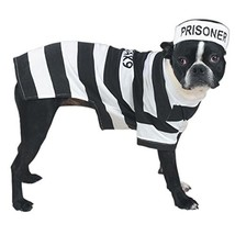 "Casual Canine Prison Pooch Costume for Dogs, 24"" XL - £18.17 GBP"