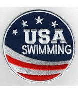 """Team USA Swimming Embroidered Iron-On Patch Size 2 3/4"""". USA Olympics - ... - $7.87"""
