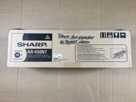 Genuine NEW Sharp AR-450NT Black Toner Cartridge SAME DAY SHIPPING - $64.35