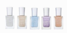 5 x Sally Hansen Smooth & Perfect Color Care Nail Polish Pastel Assorted... - $15.99