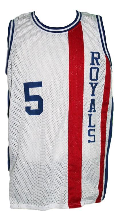 Tom van arsdale  5 cincinnati royals basketball jersey white   1