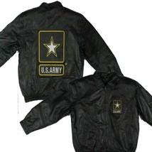 U.S. ARMY Genuine Leather Jacket - $187.06+
