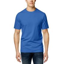 Club Room Men's Crew-Neck T-Shirt Palace Blue Large - $19.31