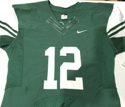 NIKE Authentic Men's Vapor Pro Football Jersey Size Large Green White NWT New  - $12.86