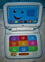 Fisher- Price Laugh & Learn Smart Stages Blue Laptop. - $18.76