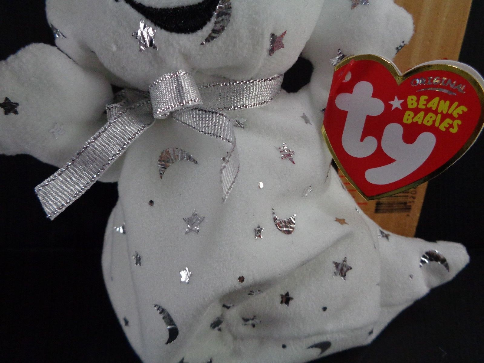 Halloween Ty Ghost Stars And Moon Vanish Plush Stuffed Animal Toy Doll image 3