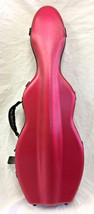 TONARELI Fiberglass Violin 4/4 Full Hard Case Prototype- Cherry Red Satin - $219.00