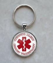 Kidney Transplant Medical Alert Keychain - $14.00+