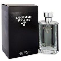 Prada L'Homme Prada Cologne 5.1 Oz Eau De Toilette Spray image 3