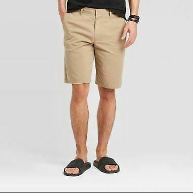 "Men's 10.5"" Chino Shorts - Goodfellow & Co Beige size  28"