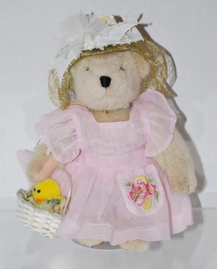 "Muffy Vanderbear Collection ""Easter Fantasy"" Bear & Stand North American Bear Co"